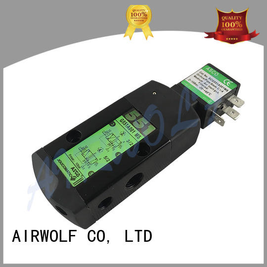 AIRWOLF ODM solenoid valves hot-sale for gas pipelines