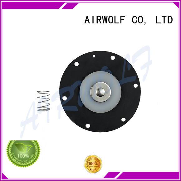 AIRWOLF hot-sale diaphragm valve repair kit dust paper industry