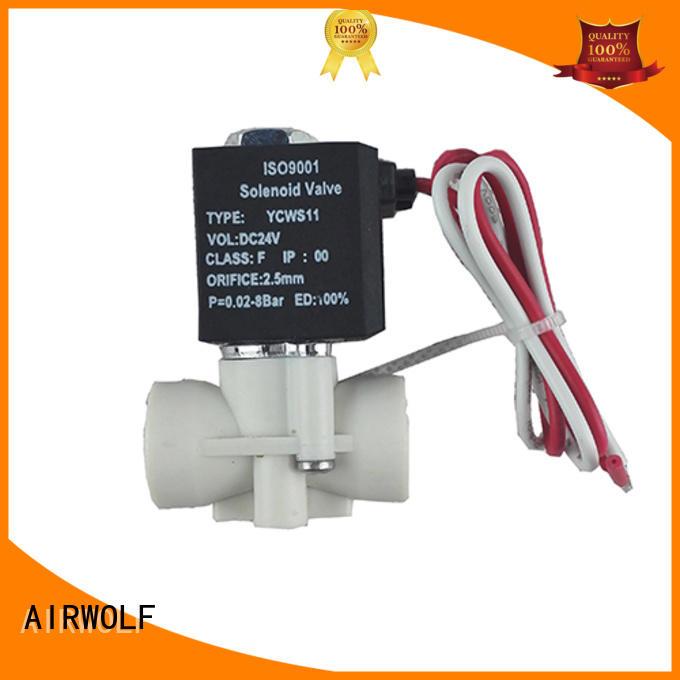 AIRWOLF wholesale electromagnetic solenoid valve hot-sale liquid pipe