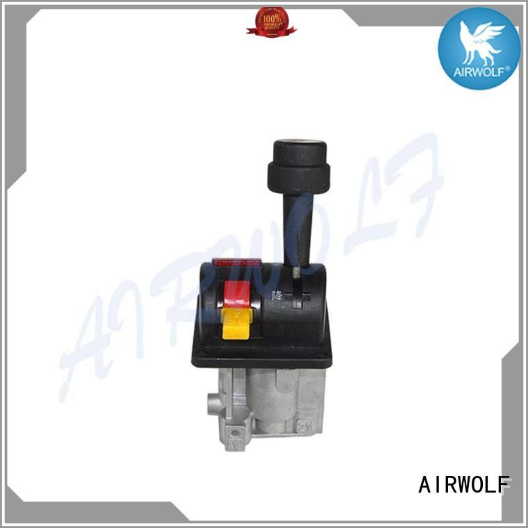 AIRWOLF excellent quality dump truck control valve mechanical force