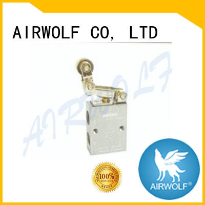 AIRWOLF mechanical pneumatic manual valves red wholesale