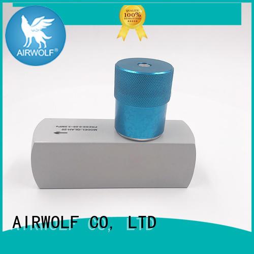 AIRWOLF high quality pneumatic push button valve mushroom bulk production