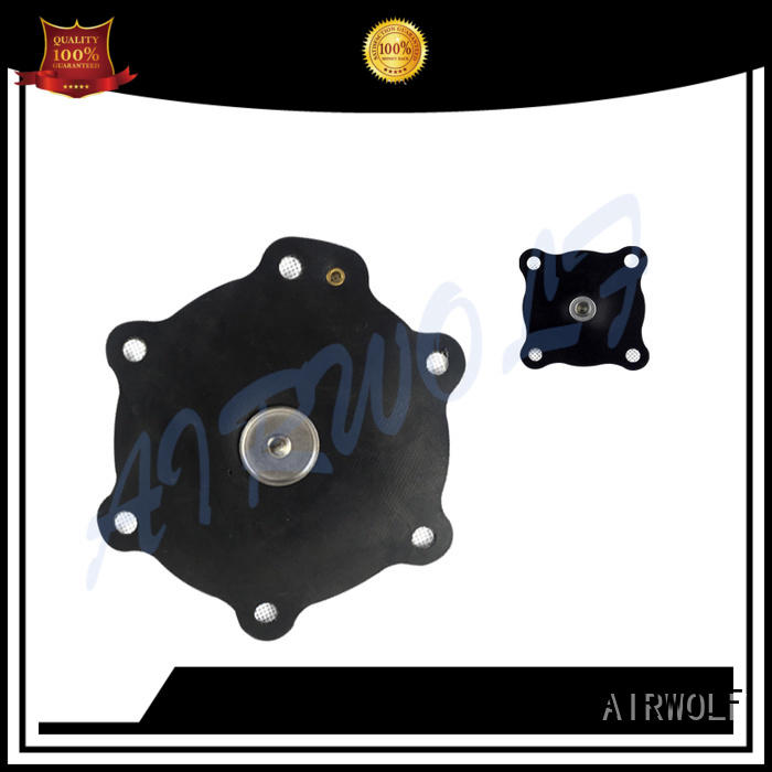 AIRWOLF red diaphragm valve repair assembly paper industry