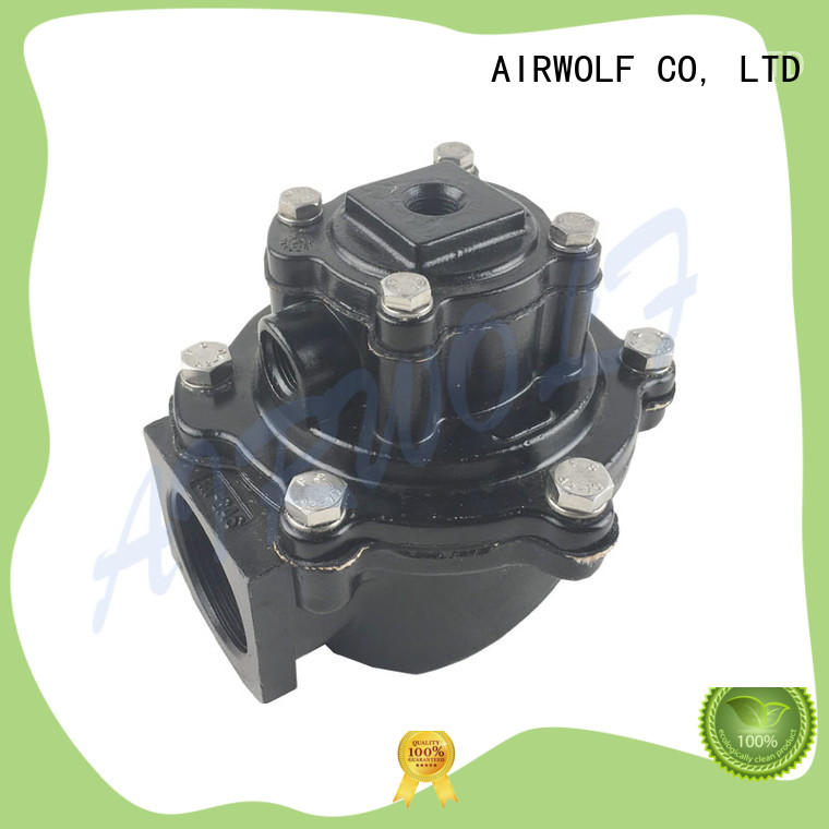 MECAIR type 1-1/2 inch aluminium black VEM214 pneumatic control pulse jet valve