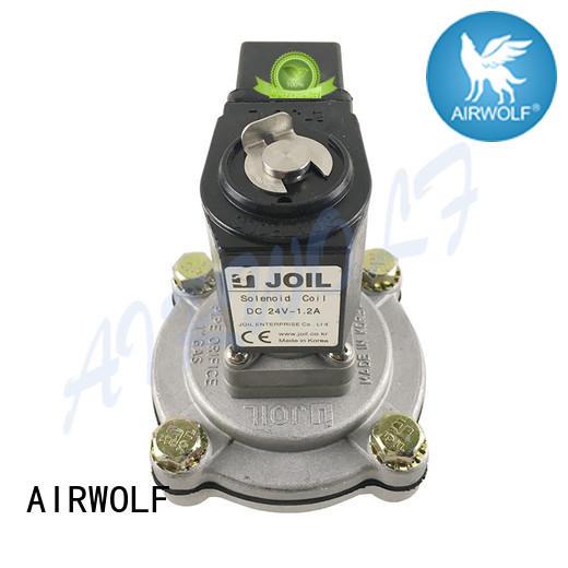 AIRWOLF customized pneumatic components precision valve