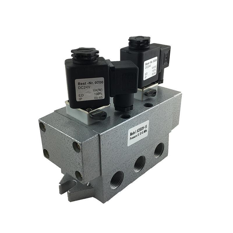AIRWOLF aluminium alloy single solenoid valve spool direction system-1