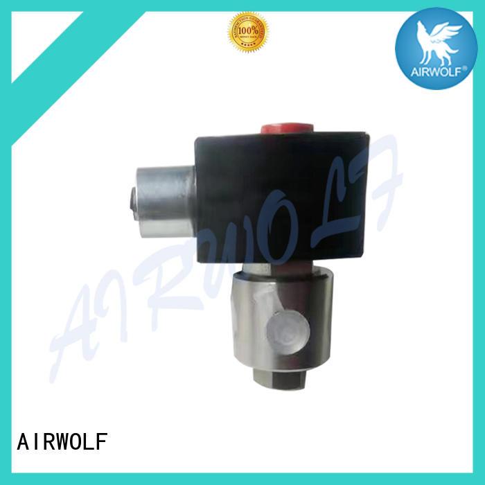 AIRWOLF aluminium alloy solenoid valves body for gas pipelines