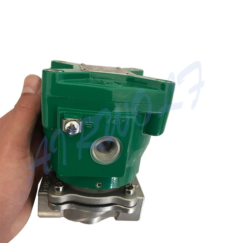 aluminium alloy single solenoid valvehigh-qualityoperated switch control-1