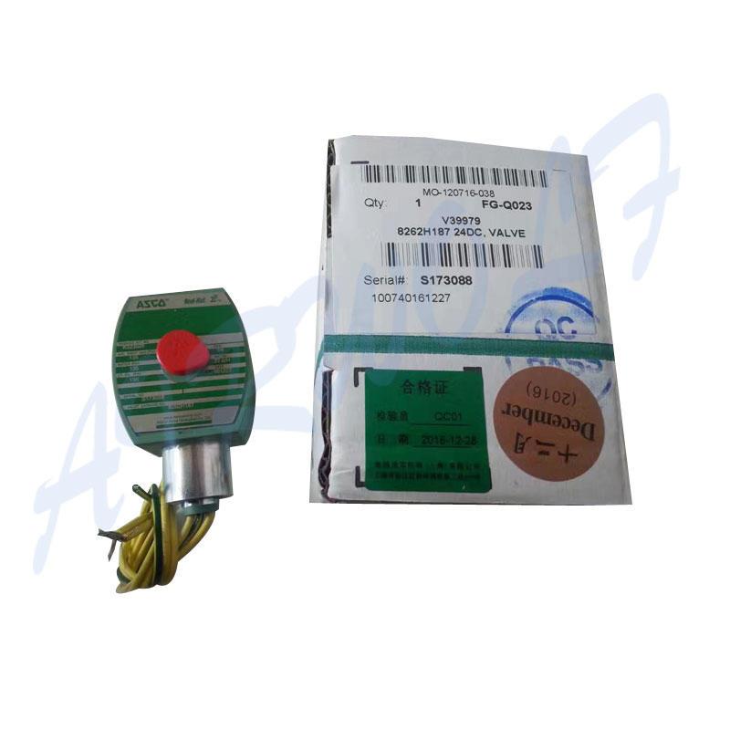 AIRWOLF aluminium alloy solenoid valves single pilot for gas pipelines-3