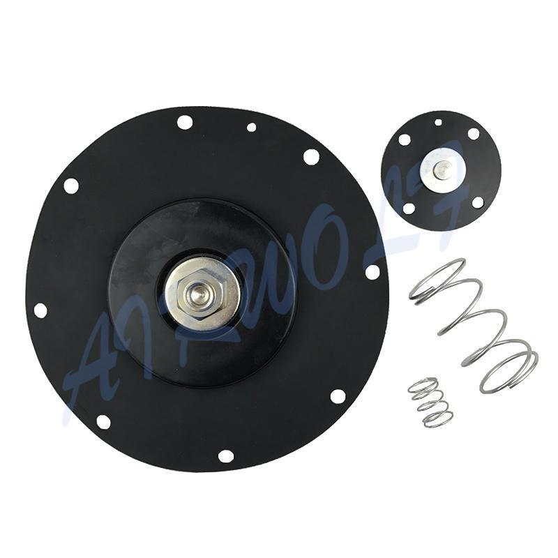 4 inch Double diaphragm pulse jet valve repair kit K10200 Nitrile / K10201 Viton for Goyen type CA102MM RCA102MM-3