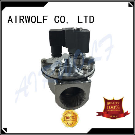 AIRWOLF submerged anti pulse valve custom air pack installation