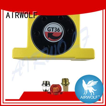 AIRWOLF custom pneumatic vibration equipment cushioned for customization
