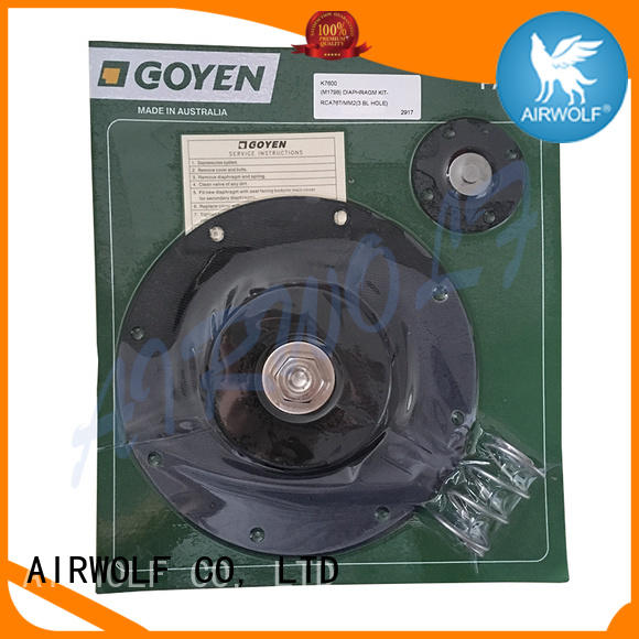 high quality Nitrile Diaphragm repair kit on-sale textile industry AIRWOLF