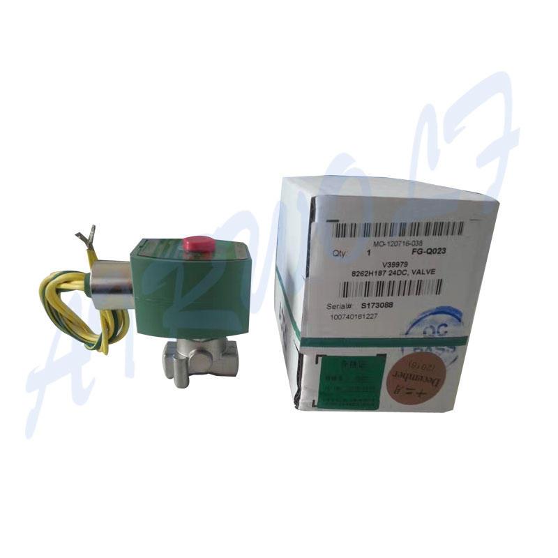AIRWOLF aluminium alloy solenoid valves single pilot for gas pipelines-1