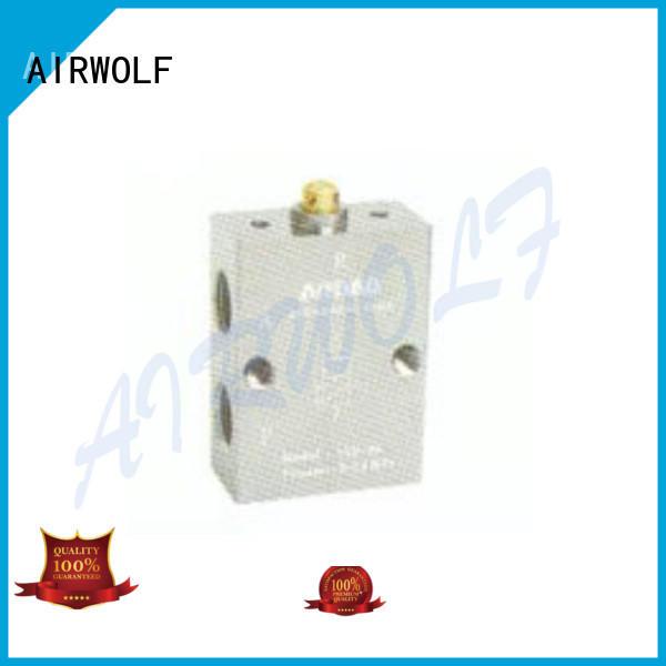 AIRWOLF custom pneumatic manual control valve aluminium bulk production