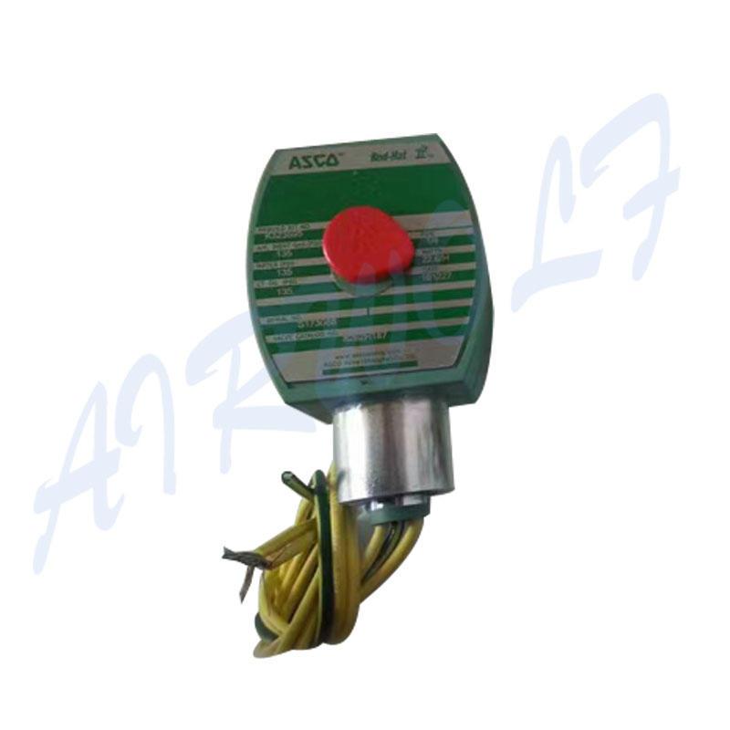 AIRWOLF aluminium alloy solenoid valves single pilot for gas pipelines-2