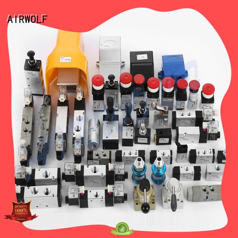 cheapest price pneumatic manual control valve push wholesale