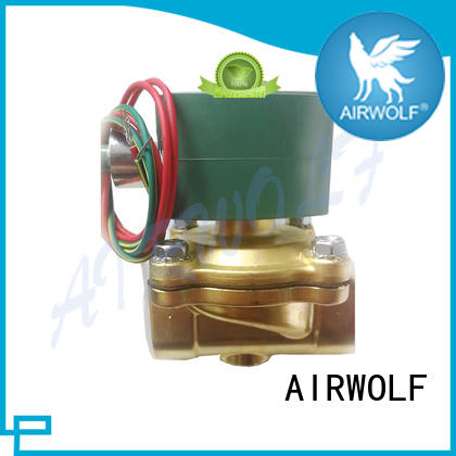 AIRWOLF OEM pneumatic solenoid valve way for gas pipelines