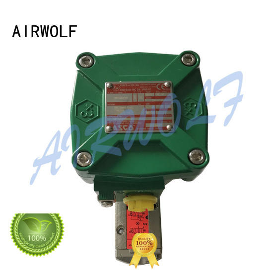 high-quality single solenoid valve on-sale for gas pipelines AIRWOLF