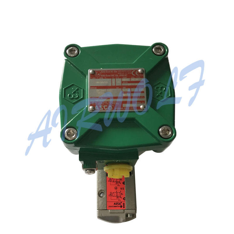 AIRWOLF ODM single solenoid valve for gas pipelines-1