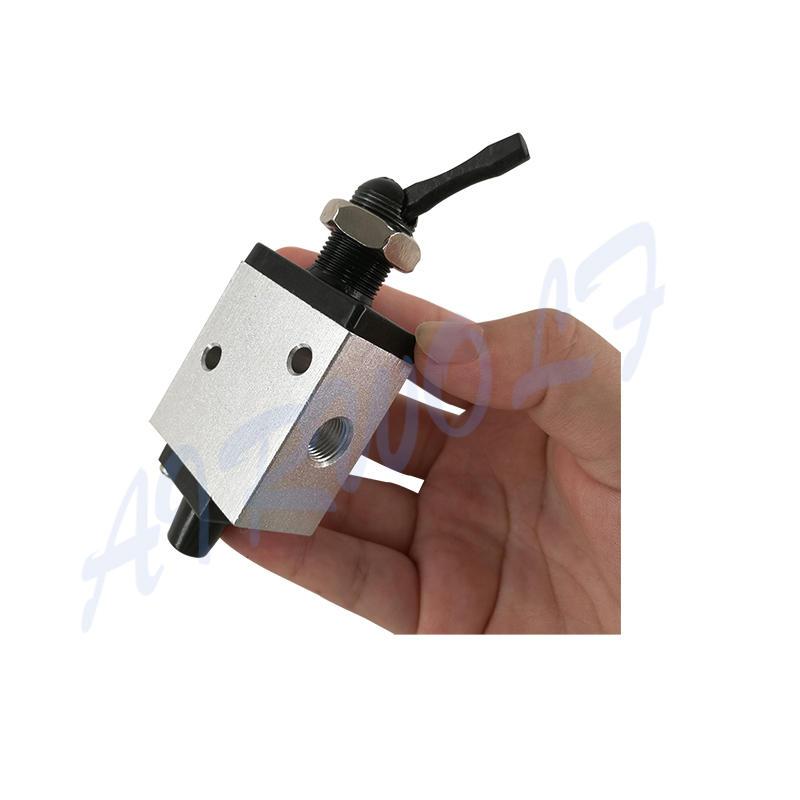 AIRWOLF manual pneumatic push button valve switching wholesale-2