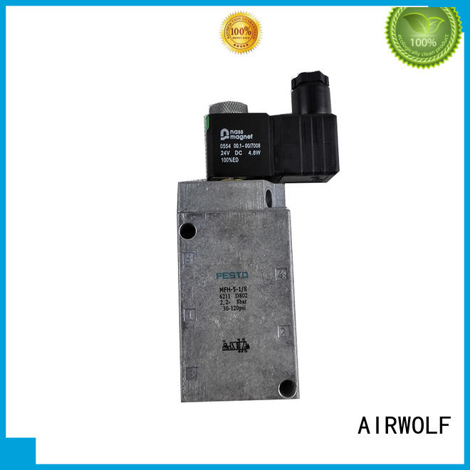 AIRWOLF aluminium alloy solenoid valves hot-sale water pipe