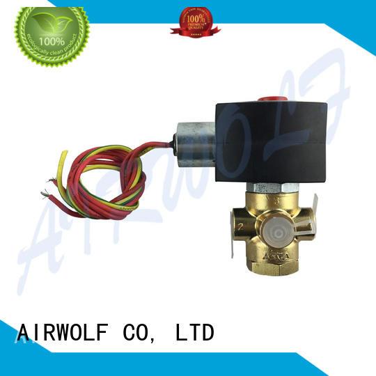 AIRWOLF aluminium alloy pilot operated solenoid valve spool water pipe