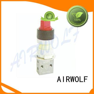 AIRWOLF mechanical pneumatic push button valve direct wholesale