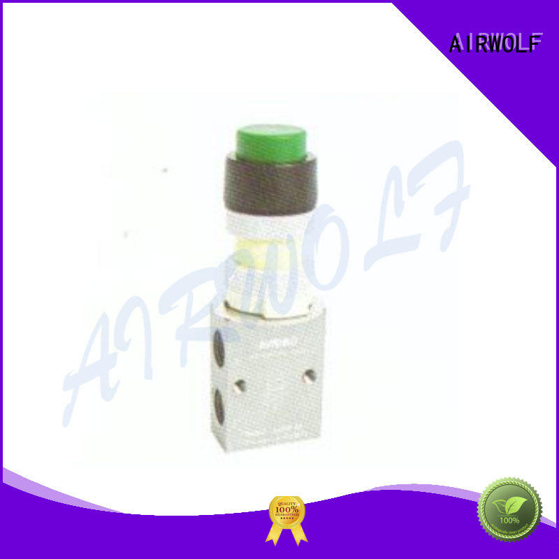 AIRWOLF cheapest price pneumatic manual control valve exhaust wholesale