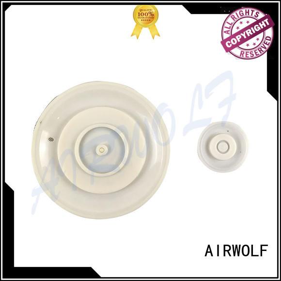 AIRWOLF remotely diaphragm valve repair outlet metallurgy industry