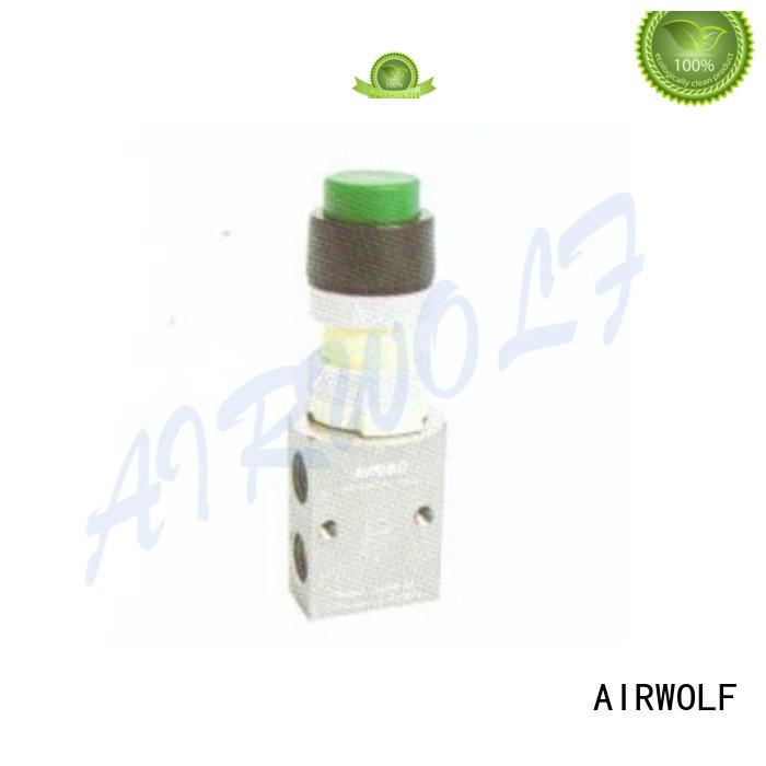 AIRWOLF convenient pneumatic push button valve acting at discount