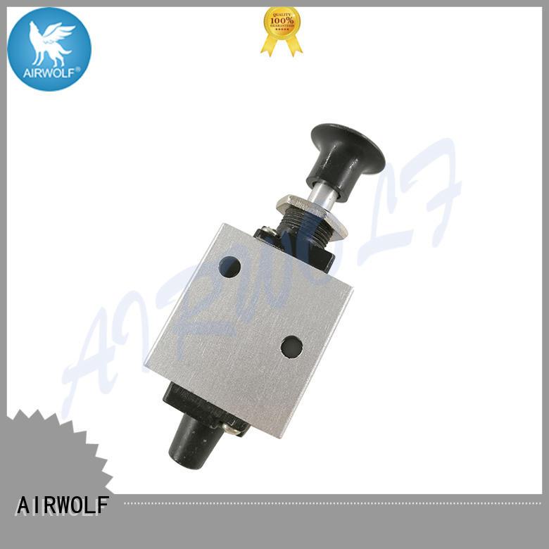 AIRWOLF high quality pneumatic manual valves pneumatic bulk production