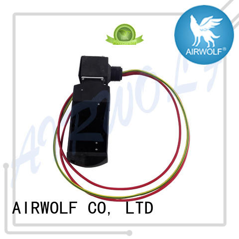 AIRWOLF customized pneumatic solenoid valve operated water pipe