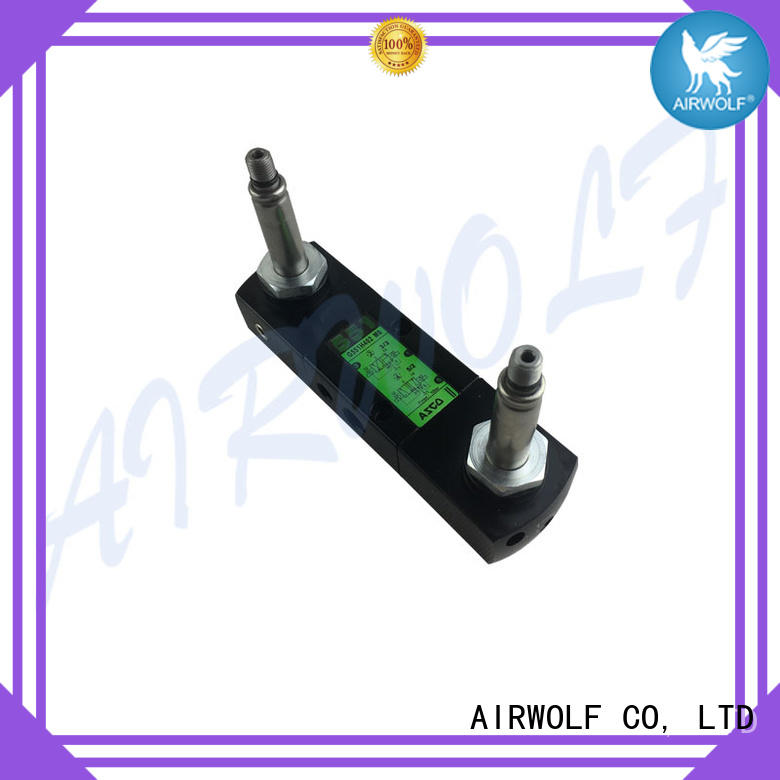 AIRWOLF hot-sale pilot operated solenoid valve direction system