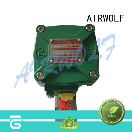 AIRWOLF ODM single solenoid valve for gas pipelines