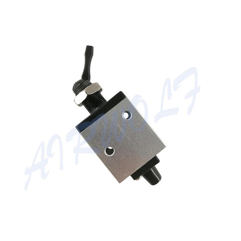 AIRWOLF manual pneumatic push button valve switching wholesale-1