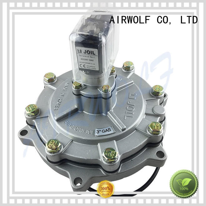 Custom aluminium solenoid valves inch AIRWOLF