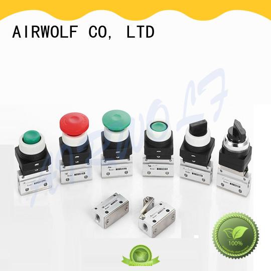 AIRWOLF convenient pneumatic manual valves air wholesale