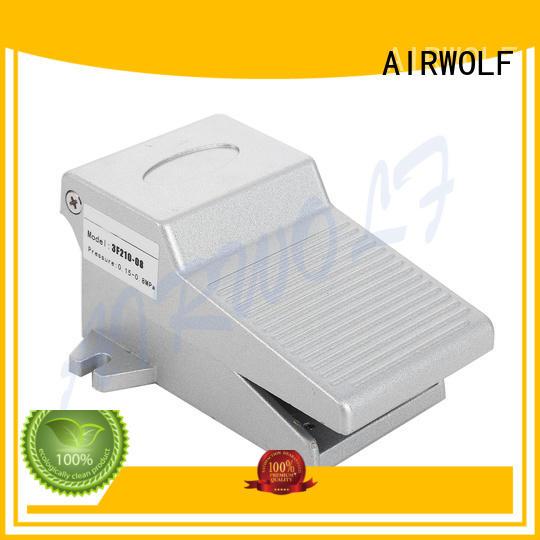 custom pneumatic push button valve push at discount AIRWOLF