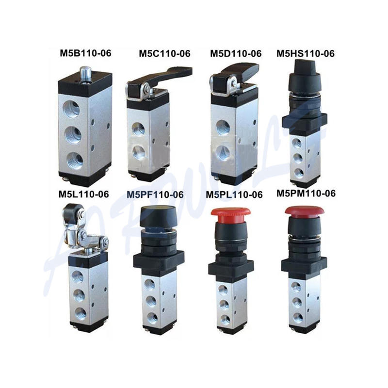 AIRWOLF cheapest price push button pneumatic air valve stroke bulk production-1