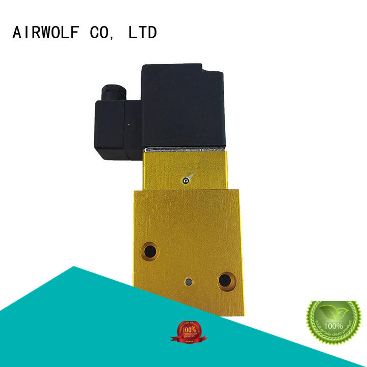 electromagnetic solenoid valve single pilot water pipe AIRWOLF
