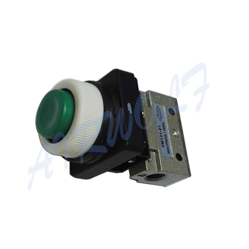AIRWOLF mechanical pneumatic manual valves push bulk production-2