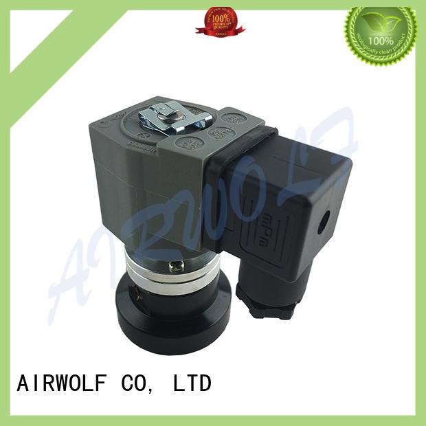 aluminum alloy pulse flow valve norgren series dust blowout AIRWOLF