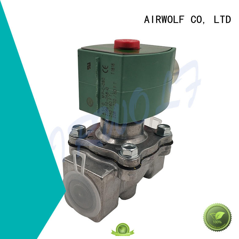 AIRWOLF high-quality single solenoid valve for gas pipelines
