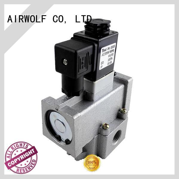 AIRWOLF aluminium alloy pneumatic solenoid valve way direction system
