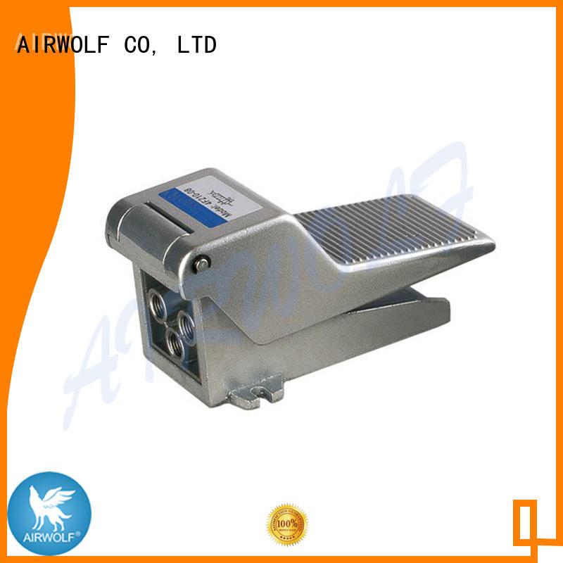 AIRWOLF cheapest price pneumatic push button valve aluminum wholesale