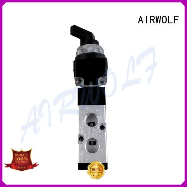 AIRWOLF yellow dump truck control valve for wholesale mechanical force