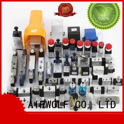 AIRWOLF manual pneumatic push button valve stroke wholesale