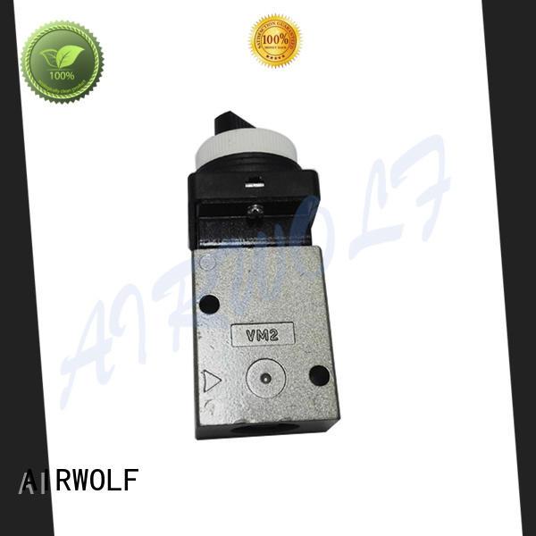AIRWOLF green pneumatic push pull valve custom wholesale