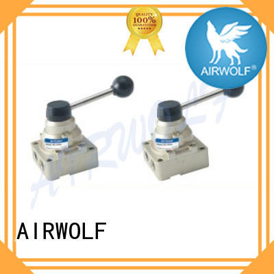 AIRWOLF slide pneumatic manual control valve roller at discount